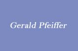Pfeiffer Gerald